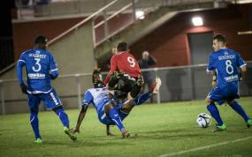 SPORTS / FOOT / R1 DOMERAT vs ESPALY le 08-12-18 , photo florian salesse